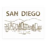Vintage San Diego Postal