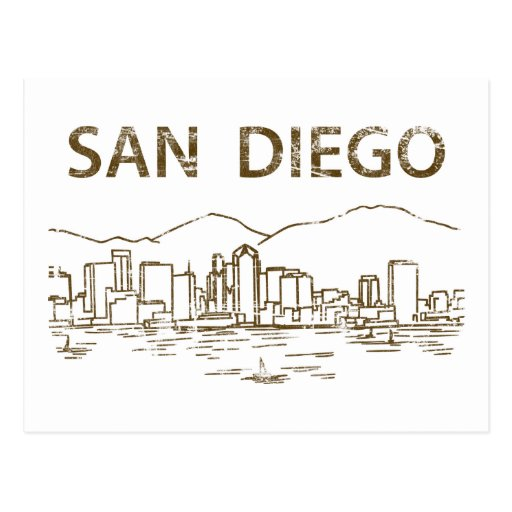 Vintage San Diego Postcard