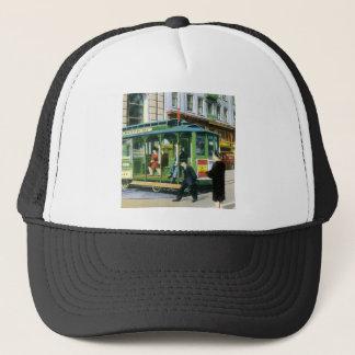 Vintage San Francisco Cable Car Trucker Hat