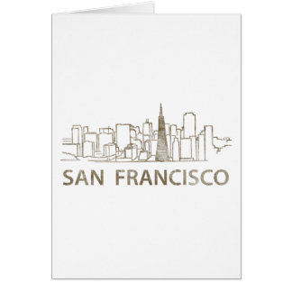 Vintage San Francisco Card