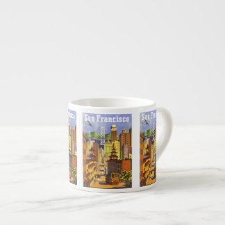 Vintage San Francisco Espresso Cup