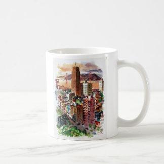 Vintage San Francisco Golden Gate Bridge View Coffee Mug