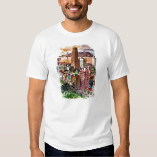 Vintage San Francisco Golden Gate Bridge View T-Shirt