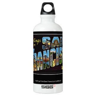 Vintage San Francisco Liberty Bottle SIGG Traveler 0.6L Water Bottle