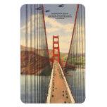Vintage San Francisco, los E.E.U.U. - Iman Rectangular