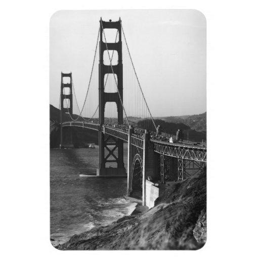 Vintage San Francisco, los E.E.U.U. - Imán Flexible