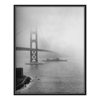 Vintage San Francisco, los E.E.U.U. - Poster