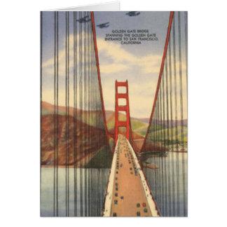 Vintage San Francisco, los E.E.U.U. - Tarjeton