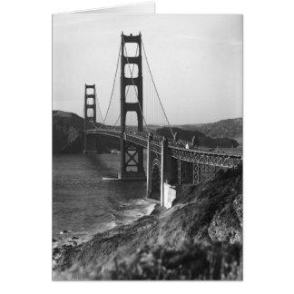 Vintage San Francisco, los E.E.U.U. - Felicitacion