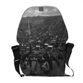 Vintage San Francisco Panoramic Photograph (1902) Courier Bag
