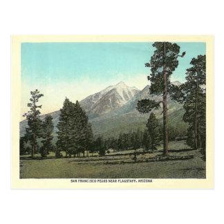 Vintage San Francisco Peaks Postcard