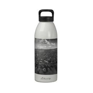 Vintage San Francisco Photograph panorámica 1902 Botellas De Agua Reutilizables