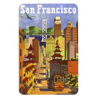 Vintage San Francisco Flexible Magnets