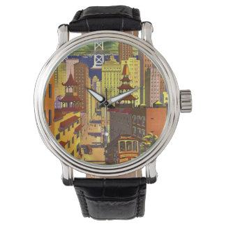 Vintage San Francisco Reloj De Mano