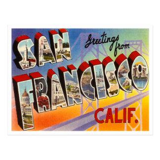 Vintage San Francisco Postales