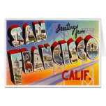 Vintage San Francisco Tarjetas