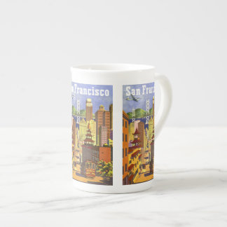 Vintage San Francisco Tea Cup