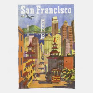 Vintage San Francisco Towel