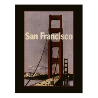 Vintage San Francisco Travel Postcard