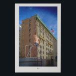 """Vintage San Fransisco buildings Faux Canvas Print<br><div class=""""desc"""">Vintage union square in California</div>"""