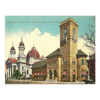 Vintage San Jose California Postal