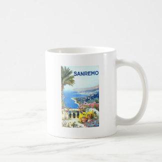 Vintage San Remo Italy Europe Travel Coffee Mug