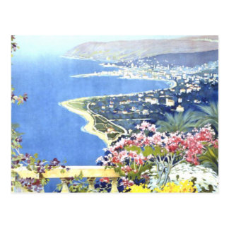 Vintage San Remo Italy Europe Travel Postcard