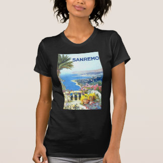 Vintage San Remo Italy Europe Travel T Shirt