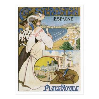 Vintage San Sebastian Spain Postcard