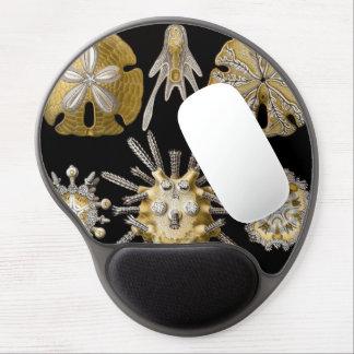 Vintage Sand Dollars Sea Urchins by Ernst Haeckel Gel Mouse Pad