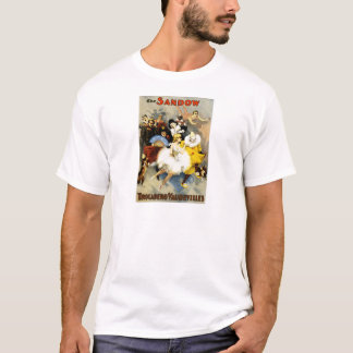 Vintage Sandow Trocadero Vaudeville Performance T-Shirt
