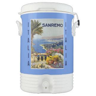 Vintage Sanremo custom beverage cooler