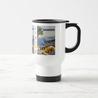 Vintage Sanremo Italy custom mugs