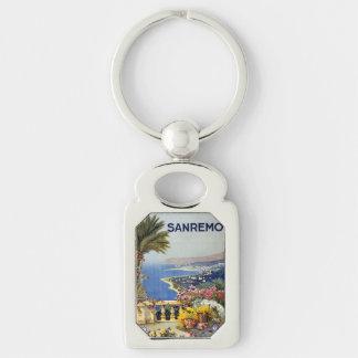 Vintage Sanremo Italy key chain
