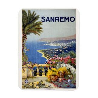 Vintage Sanremo Italy magnet