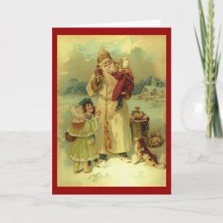 Vintage Santa - 1890s card