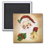 Vintage Santa 2 Imán