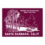 Vintage Santa Barabara California Comunicados Personales