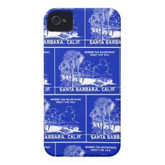 Vintage Santa Barabara California iPhone 4 Case