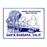Vintage Santa Barabara California Postal