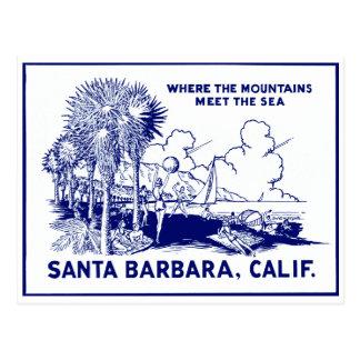 Vintage Santa Barabara California Postales