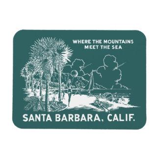 Vintage Santa Barabara California Rectangular Photo Magnet