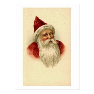 Vintage Santa Card Postcards
