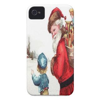 Vintage Santa Case-Mate iPhone 4 Case