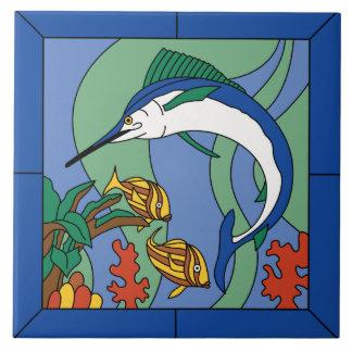 Vintage Santa Catalina Island Marlin Tile