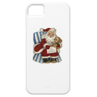 Vintage Santa  Christianity Holidays Christmas iPhone 5 Cases