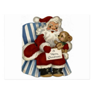 Vintage Santa  Christianity Holidays Christmas Postcards