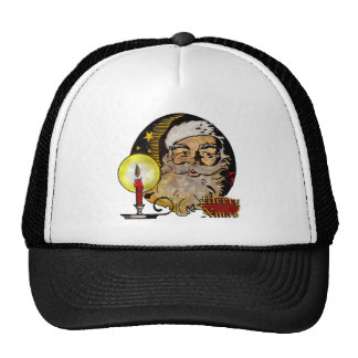 Vintage Santa Christmas Hat