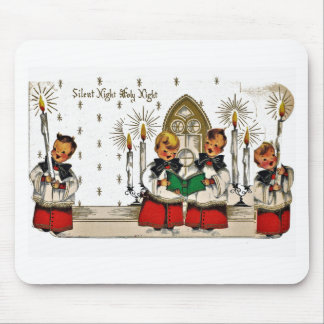 vintage-santa-christmas-post-cards-0029 mouse pad