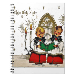 vintage-santa-christmas-post-cards-0029 notebook